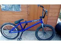 "Amity Bmx bike chrome proper bike rim Demolition lhd hub wheels 20.6"" tt frame wtp tyr ODI grips £55"