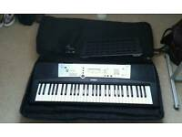 Large Yamaha Keyboard with Keyboard bag