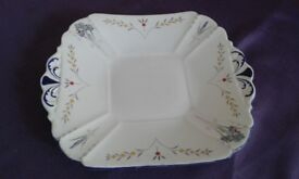 Shelley Art Deco cake plate