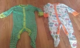 Baby boys clothes 15 baby boys sleepsuits