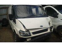 2005 Ford Transit 300 SWB 2.3 EFi petrol LPG RWD white BREAKING FOR SPARES