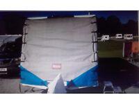 Caravan towing cover