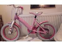 "Girls Hello Kitty bike - 10"" wheels"