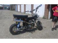 Honda Dax 110cc, Lifan, Monkey Bike