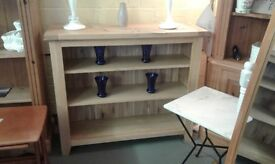 lovely solid oak bookcase £90.00 fantastic condition