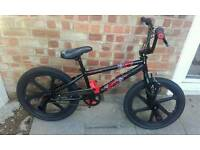 Brand new bmx bike out the box