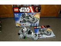 Lego Star Wars First Order Snow speeder