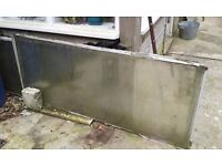 """Toughened glass sheets 4 x 6' x 2'6"""" and 4 x 6' x 2'3"""" approx"""