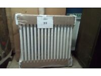 White column radiator in