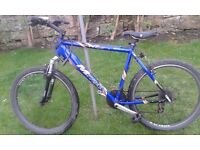 Men Bike with good condition and Mountain Bike Stirling brand new chain guard and bottom bracket