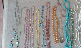 39 necklaces