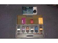 Boss Effect Pedals, MXR Compression pedal and Zoom Drum Machine for Sale