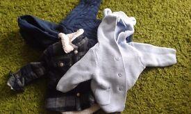 Baby boys clothes bundle (0-9months) 42 items