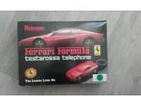 Retro Ferrari phone.