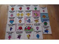 Set of 24 Little Miss Books