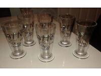 6 Tall Glass Latte Glasses/Mugs
