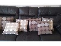 CUSHION COVERS X6 CUSHION PUDDING NOT INCLUDED