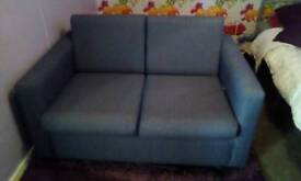 sofa bed in blue