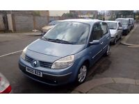 RENAULT SCENIC 1.5 DCI DIESEL LONG MOT PX WELCOME