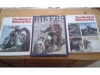 3 motor cycle books