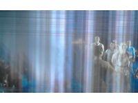 50 ; inch LED HITACHI SMART TV (Damaged Screen)