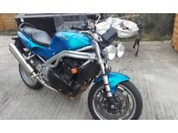 Triumph SPEED TRIPLE 955i, 2001, low mileage,