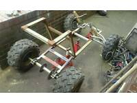 Off road buggy quad unfinished project