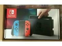 Nintendo Switch NEON Red Blue BNIB