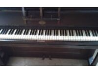Turner and Phillips, upright piano. Needs tuning but all keys play. Free on collection