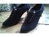 ladies ankle heels size 8.