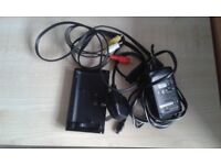 Sony Camcorder Docking Station with AC adaptor and A/V connecting cable