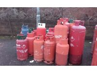 gas bottles for sale various sizes