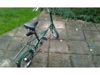 Mini moulton retro bike