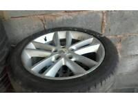 "Vauxhall 5stud 17"" alloy wheels vectra astra zafira signum"