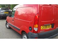 08 Renault kangoo never used in construction 42200 miles