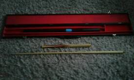 Snooker cue hand made
