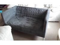 Ikea grey Sofa Two-Seat Knopparp - excellent condition