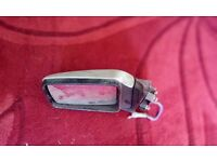 Range rover classic off side door mirror colour coded silver, both sides available