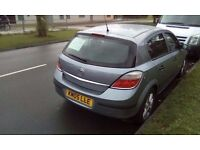 vauxhall astra 1.6 petrol 5 door silver 2005 05 plate