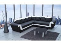 Brand new corner sofa bed