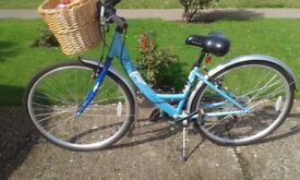 Ladies Apollo Metis 16 Bicycle with 6 speed Shimano Gears