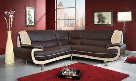 Palmero, retro design sofas / 3+2 seater sofa set or corner sofa in a choice of 4 colours