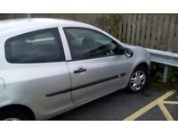 57plate clio, 12mnth mot runs and drives perfectly no issues