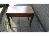 Old Wooden ? Baby bath Stand