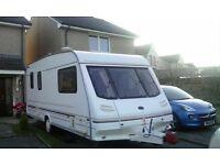 1998 sterling eccles 5 birth caravan (sold)