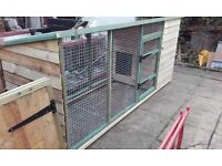 8ft x 3 ft dog kennel / run