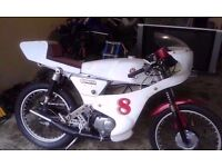 for sale yb 100 cafe racer unfinnished project... .road legal