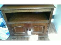 BEAUTIFUL ANTIQUE TV UNIT REALLY LOVELY BARGAIN