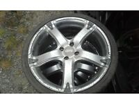 "18"" alloy wheels 4 stud"