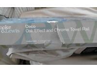 Cooke & Lewis Towel Rail